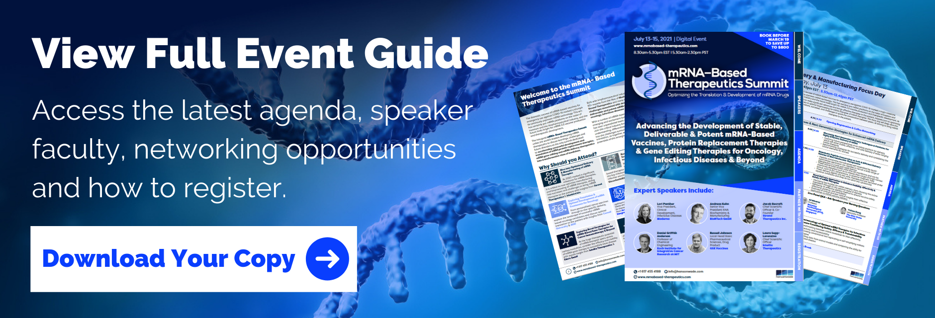 mRNA Event Guide Banner